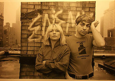 1 english clipping BLONDIE DEBBIE HARRY N. SHIRTLESS ROCK SINGER BOY BAND BOYS