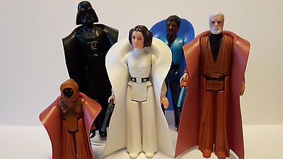 Star Wars 1977 replacement none creasing rubber cloaks for figures £2.99 each