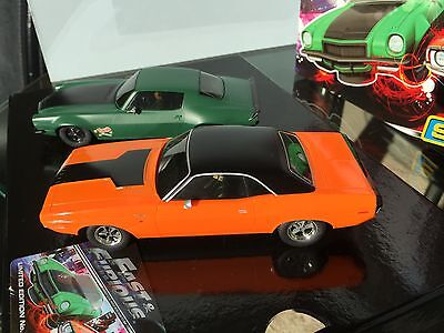 Scalextric Fast & Furious Box C3373A , Camaro & Challenger, Mint set with Card