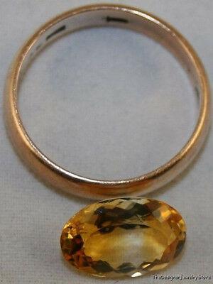 Natural Citrine Golden Loose Gem 8X12 Faceted Oval Cut 2.4Ct Gemstone Ci12A
