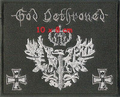 God Dethroned - patch - FREE SHIPPING