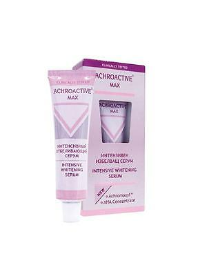 NEW ACHROACTIVE MAX Intensive WHITENING Lightening Face SERUM All Skin Types