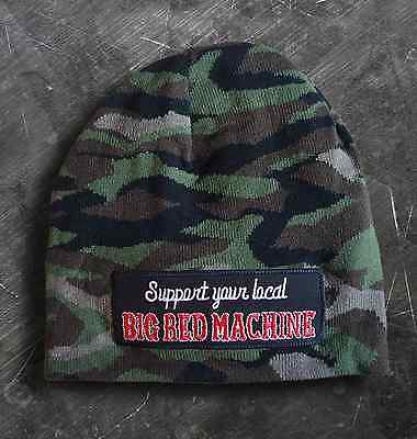 """Hells Angels Support 81 Beanie Mütze camouflage """"SUPPORT YOUR LOCAL BRM"""""""