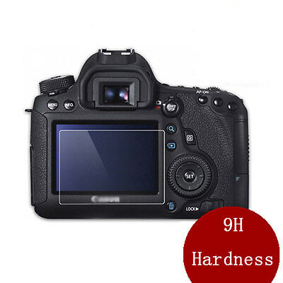 9H Hard LCD Toughened Glass Screen Protection Film For Canon EOS 6D new