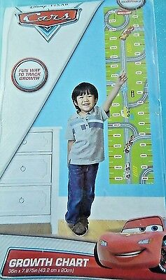 Disney Pixar Cars Movie Growth Chart Track Your Childs Growth NIP Holiday Gift