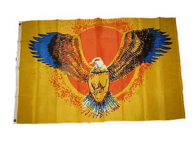 3x5 Eagle Wings Sun Flag 3'x5' Brass Grommets polyester