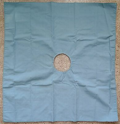 """Surgical Cotton Eye Drapes 21"""" X 21"""" with 2-3 """" Hole"""