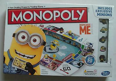Monopoly: Despicable Me Minion Edition - Board Game - Hasbro - 2013 - Sealed