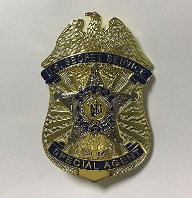 U.s. Secret Service Special Agent Pin Metal Badge Props Collection-2007