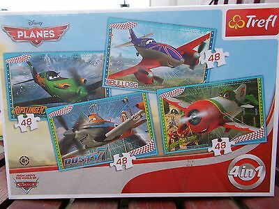 Puzzel 4 in 1 - Disney Planes