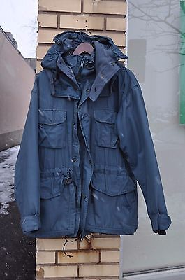 CANADIAN Air Force ARCTIC WINTER PARKA Size 6736 BLUE