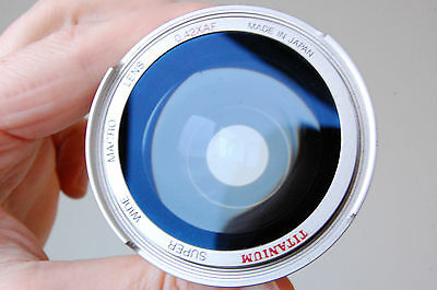 Lens 58mm Titanium super wide macro 0,42xAF, Japan