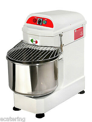 New Italinox  30ltr-25kg Spiral Dough Mixer With Free Castors.Special Price