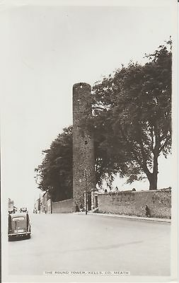 Kells - Co. Meath -The Round Tower -Ireland - Real Photo -  Postcard