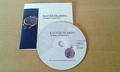 Usado - KARI VOUTILAINEN - CD  Prensa 2009  - Item For Collectors