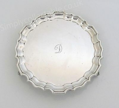 1924 James Weir Sterling Silver Card Tray - Glasgow