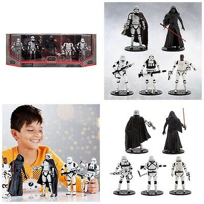 Disney Store Star Wars The Force Awakens Deluxe Die Cast Action Figure Gift Set