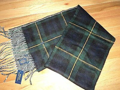 +++nwt Polo Ralph Lauren Made in Italy Scarf +++