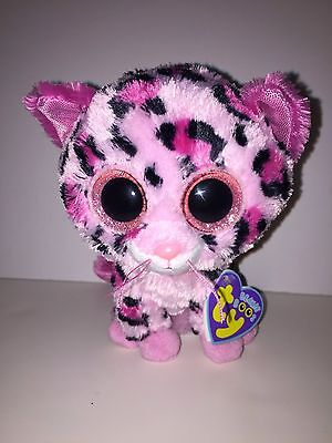 Ty Gypsy Cheetah From Justice Beanie Boos New, Non Mint Tags,hard To Find*cute