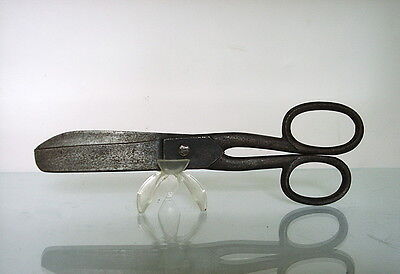 MARKED ANTIQUE CAST IRON EARLY SOVIET TAILOR's SEWING SCISSORS 1917-1932
