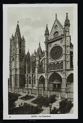 897.-LEON -6 La Catedral (Marrabas)