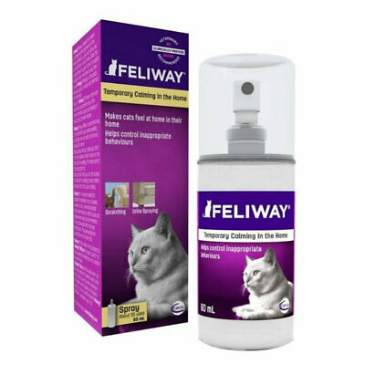 Feliway Pheromone Spray for Anxious Cats - 60ml - Genuine Aussie Stock