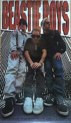 Beastie Boys Capital Records Check Your Head Original Promo 1992 Poster 30 X 18