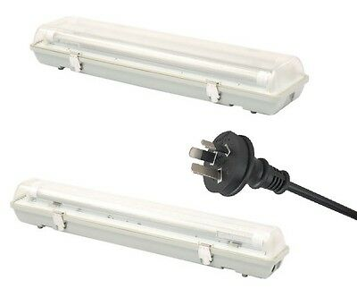 LED Light Double or Single Batten Outdoor Weatherproof 2 foot T8 IP65 10w & 20w