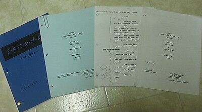 Friends Original Script From Season 1: The One With The 2 Parts, Part II + Bonus