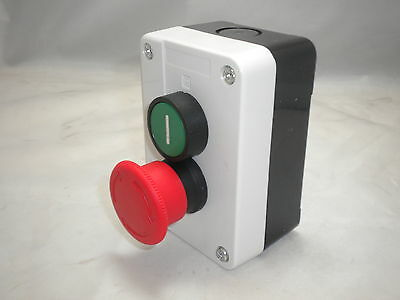 Start Stop Station  2 Push Button Remote Starter Control Pb-Sts
