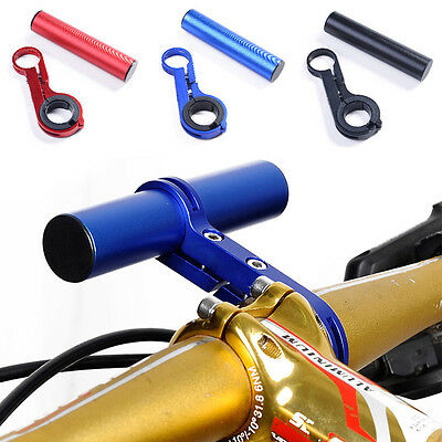 Durable Aluminium Alloy Bicycle Handlebar Bracket Holder Clamp Extender Mount