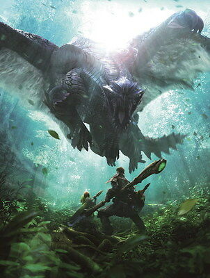 """013 Monster Hunter - Moster Fight Game 14""""x18"""" Poster"""