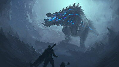 """006 Monster Hunter - Moster Fight Game 24""""x14"""" Poster"""