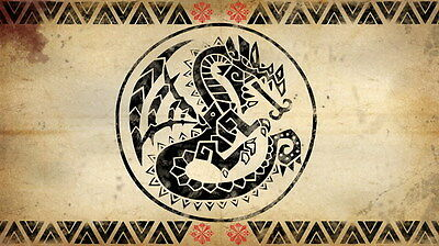 """017 Monster Hunter - Moster Fight Game 24""""x14"""" Poster"""