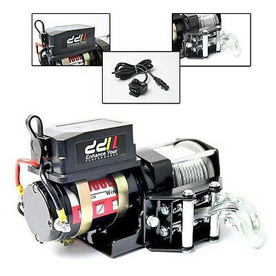 12V 3000LBS 1360KG Heavy Duty Electric Winch Steel Cable ATV 4WD Truck Car Boat