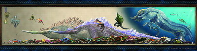 "016 Monster Hunter - Moster Fight Game 92""x24"" Poster"