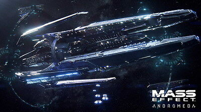 """068 Mass Effect 4 - Andromeda ME Fighting Shooting Game 42""""x24"""" Poster"""