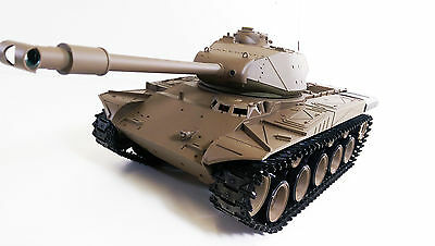 Radio Control 2.4Gz US RC 1:16 Heng Long Walker Bulldog Smoking Army R/C Tank