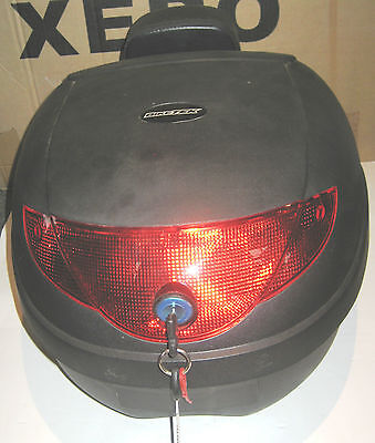 Motorcycle, Scooter Luggage Touring Storage Helmet Back Top Box.