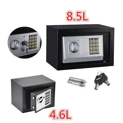 Digital Steel Safe Electronic Security Home Office Money Cash Safety Box AYA