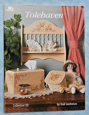 TOLEHAVEN -  Collection 111 -   Folk Art Book -  By Gail Anderson - 1990 SC