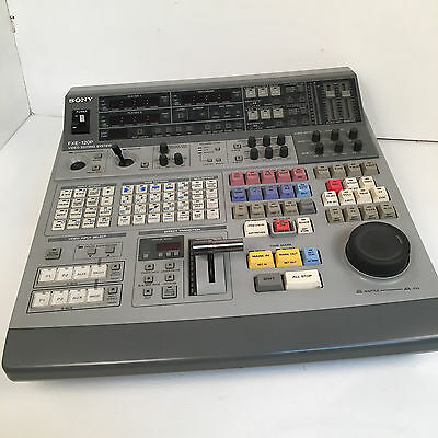 SONY FXE 120P video editing system MIXER AUDIO VIDEO PROFESSIONALE funzionante