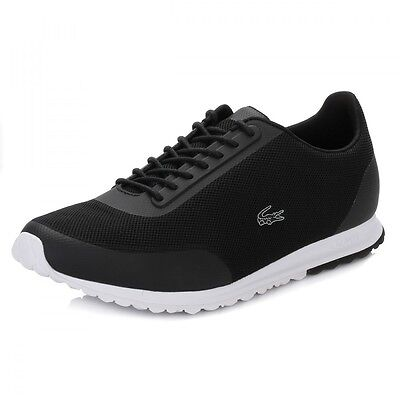 Lacoste Womens Trainers Black Helaine Runner Style Lace Up Comfort&Support Shoes