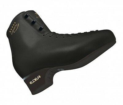 Edea Concerto senior Figure Skates Black BOOT ONLY - Free Postage