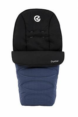 Babystyle Footmuff for Oyster 2, Max, Switch, Imp & Zero Pushchairs OXFORD BLUE
