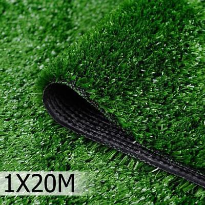 20 SQM Synthetic Turf Artificial Grass Plastic Plant Fake Lawn Flooring 10mm NEW