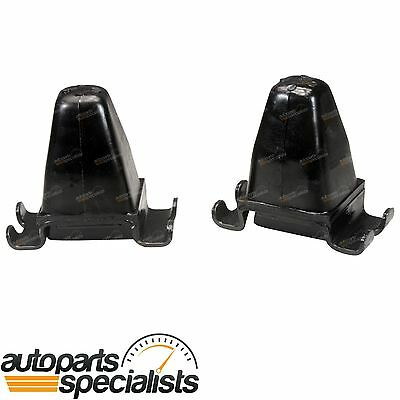 2 Rear Leaf Spring Rubber Bump Stops for Toyota Hilux 1988~2005 4wd 4x4 Ute
