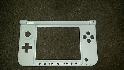 White 3DS XL middle hinge/shell replacement. UK Seller