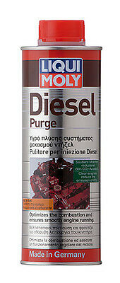 LIQUI MOLY Diesel Engine Purge Additive 500ml Injector Cleaner LM1811
