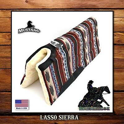 Smart Southwest ~ Lasso Sierra ~ Thick & Durable Western Built-Up Saddle Pad